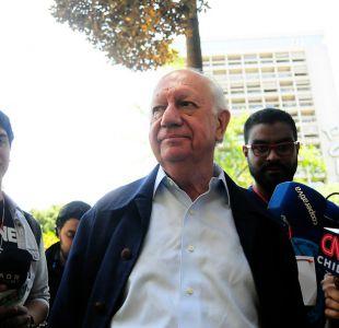 """Ignacio Walker: """"La candidatura presidencial de Ricardo Lagos no prendió"""""""