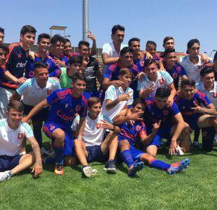 [VIDEO] La U se proclama campeón Sub 19 tras vencer en el clásico a Católica