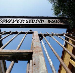 Estudiantes de Arcis refuerzan ofensiva contra administrador provisional