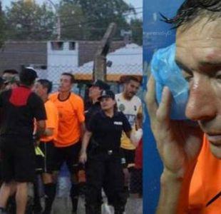 [VIDEO] Por esta violenta agresión a juez: Árbitros anuncian huelga en el fútbol argentino