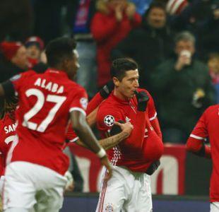 Vidal festeja en Champions: Bayern le quita el invicto al líder Atlético de Madrid