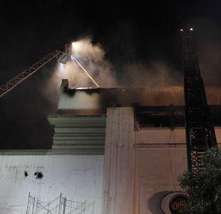 [FOTOS] Incendio afecta a la famosa discoteque Kmasú