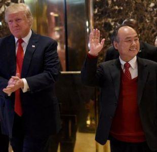 El anuncio del empresario japonés es un nuevo golpe propagandístico para Trump