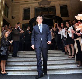 """La """"aplaudida"""" despedida de Rodrigo Vergara tras cinco años a cargo del Banco Central"""