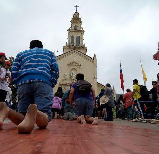Carabineros entrega balance positivo tras las primeras horas de peregrinación a Lo Vásquez
