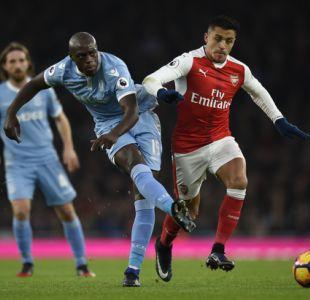 [Minuto a Minuto] Alexis Sánchez lidera el ataque de Arsenal ante Stoke City