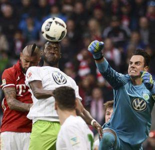 [Minuto a Minuto] Arturo Vidal es titular en triunfo del Bayern ante Wolfsburgo