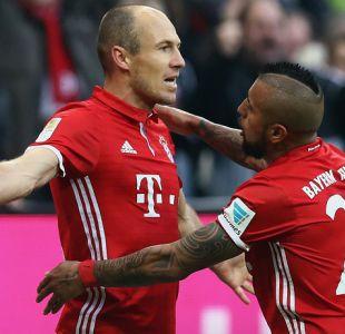 Bayern Munich con Arturo Vidal golea en casa y es líder de Alemania