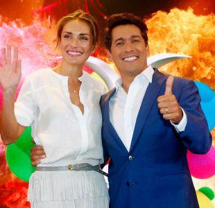 Carolina de Moras y Rafael Araneda son los animadores del Festival de Viña del Mar