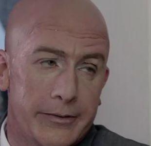 Rafael Garay bajo el comediante Stefan Kramer