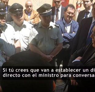 [VIDEO] Campos: Las bolas del director de Gendarmería están puestas las 24 horas en mi mesa