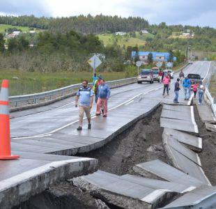Quellón se desplazó 17 centímetros tras terremoto en la Región de Los Lagos