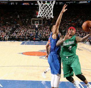 Boston Celtics vencen ajustadamente a New York Knicks en jornada navideña de la NBA