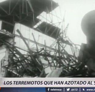 [VIDEO] Los fuertes terremotos que han azotado el sur de Chile
