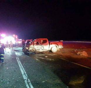 Siete personas fallecen en accidente en ruta que une Calama y San Pedro de Atacama