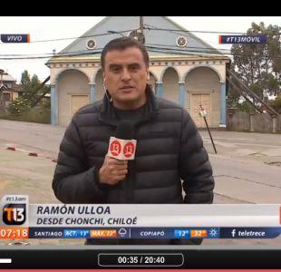 El día después del terremoto: revisar el informe de Ramón Ulloa desde Chiloé