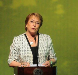 """Bachelet por investigación de la Fiscalía: """"No tuve relación con la precampaña"""""""