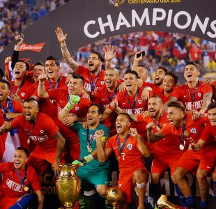[VIDEO] Chile bicampeón de América: la gran noticia del 2016