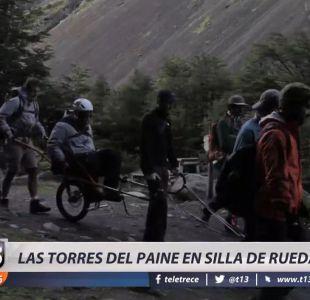 [VIDEO] Inclusividad en la Patagonia: Recorrer las Torres del Paine en silla de ruedas
