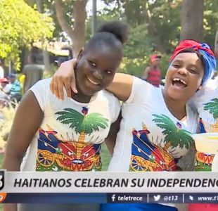 [VIDEO] Haitianos celebraron la independencia de su país en Quilicura