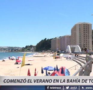 [VIDEO] Comenzó la temporada de verano en la bahía de Tomé