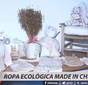 [VIDEO] Emprendedora crea ropa ecológica de algodón orgánico