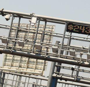 En enero subirán tarifas de autopistas urbanas de Santiago