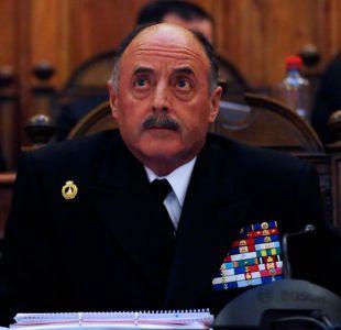 Comandante en jefe de la Armada califica a autor de grabaciones a funcionarias como un desquiciado