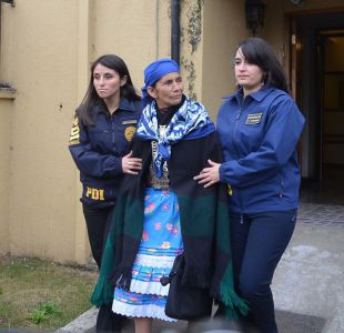 Acogen recurso de Machi Linconao y queda con arresto domiciliario