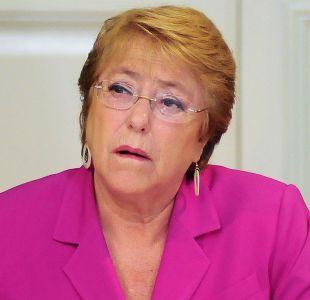 Incendio en Valparaíso: Presidenta Bachelet garantizó que seguirá junto a los afectados