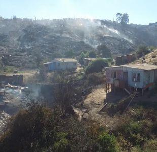 El día después del incendio: Valparaíso busca levantarse