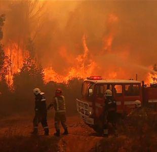 Jorge Sharp pide financiamiento del Estado para enfrentar incendios en Valparaíso
