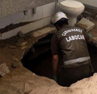La historia del fallido plan de delincuentes que construyeron un túnel para robar un banco