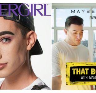 Los hombres que rompen barreras de género y protagonizan campañas publicitarias de maquillaje