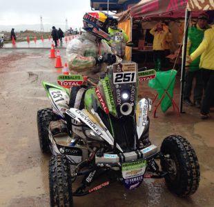 [FOTOS] La llegada de Ignacio Casale al vivac de Oruro tras 5ª etapa del Dakar