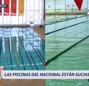 [VIDEO] El impresentable estado de las piscinas del Centro Acuático del Estadio Nacional