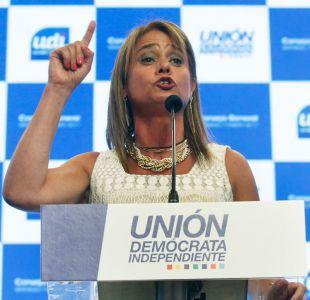 Van Rysselberghe en su primer discurso como presidenta de la UDI: No a la ideología de género
