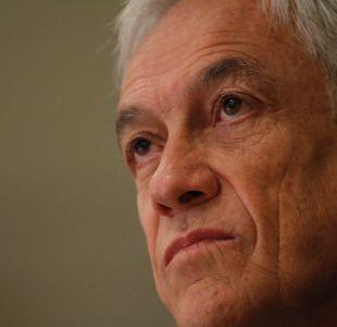 Sebastián Piñera: Estoy cansado de la gente que piensa permanentemente con mala intención