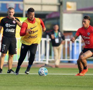 """[FOTOS] """"La Roja"""" realiza su primera práctica en Nanning de cara a la China Cup"""