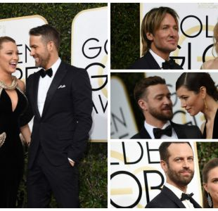 El amor también estuvo presente en los Globos de Oro 2017
