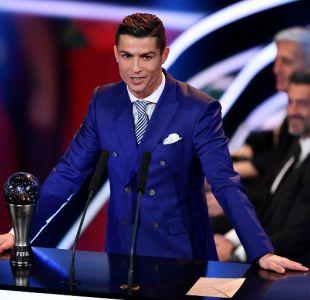 """Cristiano Ronaldo tras ganar premio """"The Best"""" de la FIFA: Fue el mejor año de mi carrera"""