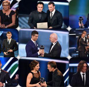 """Conoce a todos los ganadores del premio """"The Best"""" de la gala FIFA"""