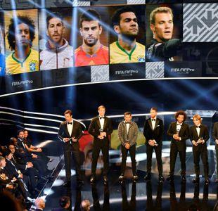 Curiosidades de The Best: Los 19 votos para Alexis y a quiénes eligieron Cristiano y Messi