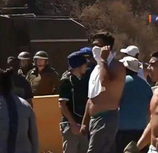 Damnificados por incendio en Valparaíso se manifestaron en ruta La Pólvora
