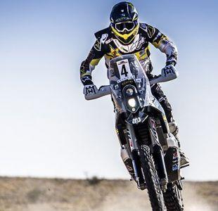Pablo Quintanilla sortea dura jornada del Dakar y sigue en el 2° lugar en la tabla general