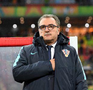 Técnico de Croacia felicita a Chile aunque reconoce que fue un poco de suerte