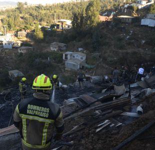 Gobierno declara estado de excepción por catástrofe en Valparaíso