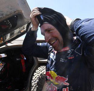 Leyenda del Dakar deja a motociclista con fractura expuesta tras chocarlo con su auto