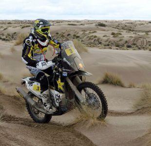 Pablo Quintanilla debe abandonar el Rally Dakar debido a caída en su motocicleta