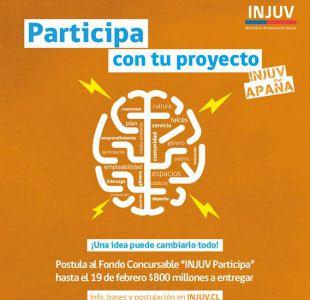 Injuv lanza fondo de $800 millones para financiar iniciativas juveniles: revisa cómo postular